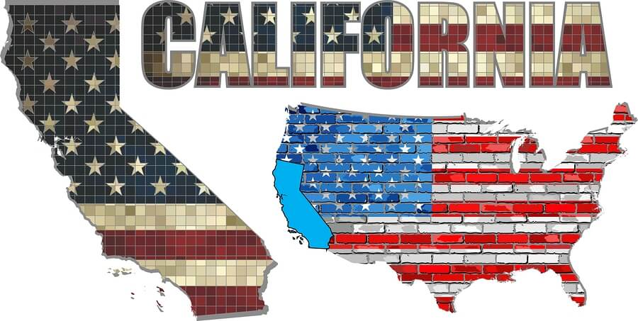 Picture of the state of california, the usa to communicate jobs for felons in california.