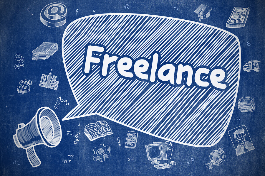 "Picture that says ""Freelance"", these are freelance jobs for felons."