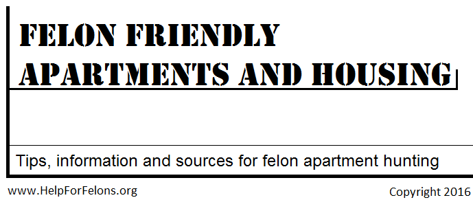Felon Friendly Apartments - Housing For Felons