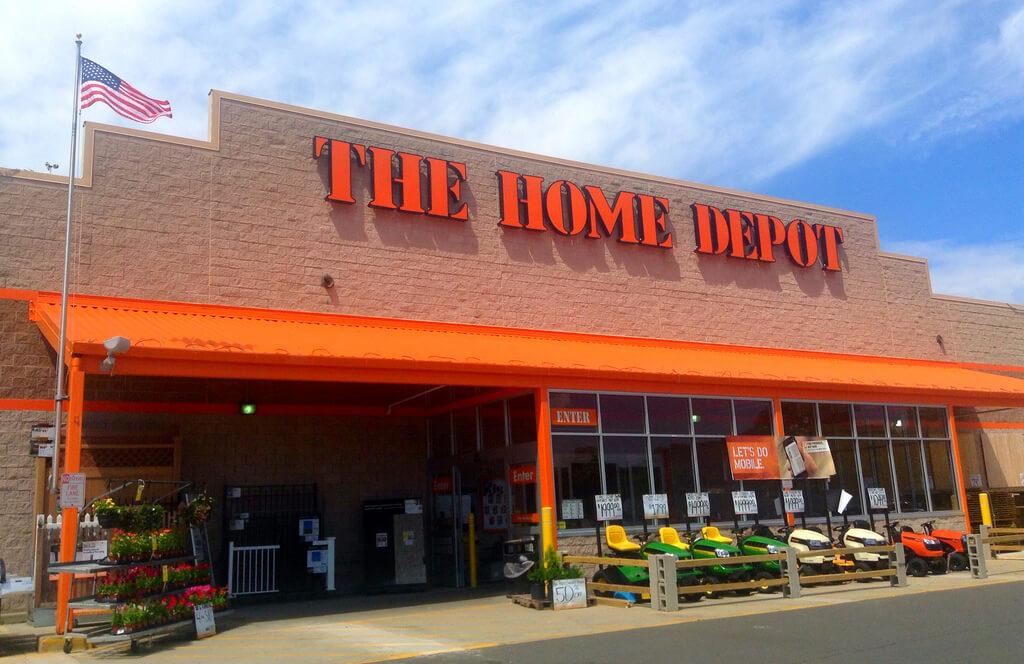 Picture of The Home Depot.