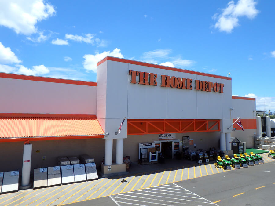 Picture Of A Home Depot That May Hire Felons