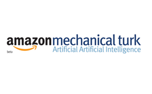Picture of amazon mechanical Turk job.