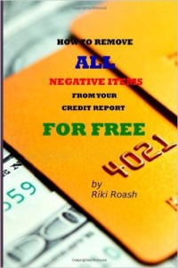 picture of credit repair book.