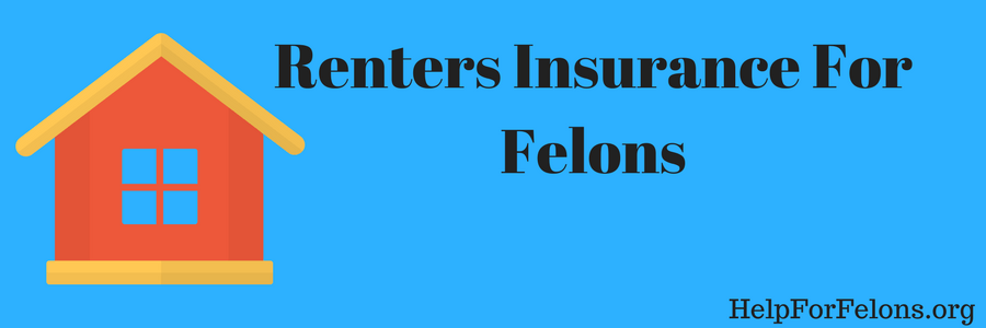 "Picture of a house and the caption ""Renters insurance for felons."""