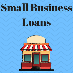 "Image of a small business with the caption ""small business loans for felons."""