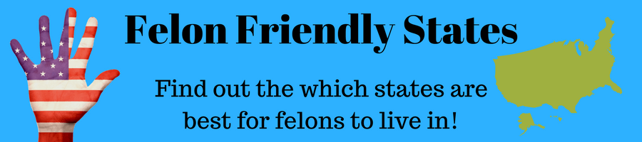 "Image of the united states and the caption ""felon friendly states."""