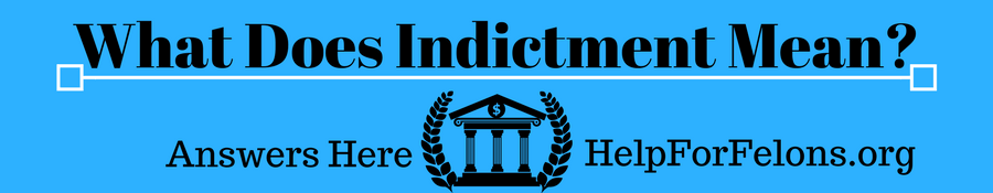 "Image of a court with the caption ""What Does Indictment Mean, answered here."""