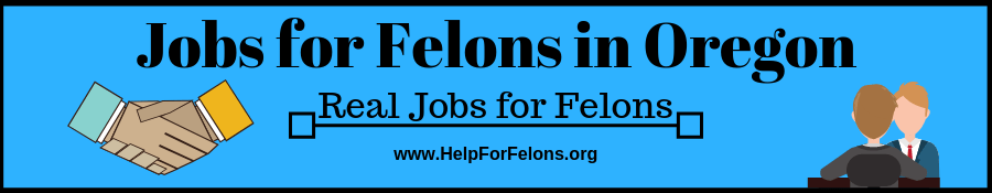 "Image of a felon interviewing for a job and shaking hands. The caption reads ""jobs for felons in oregon."""